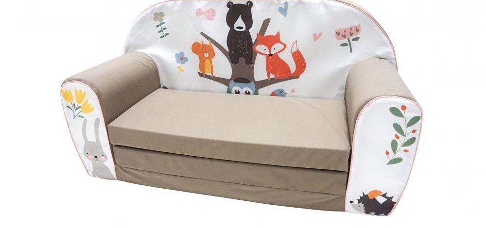 Sofa rozkładana dla dziecka – 9 opcji