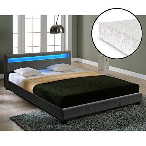 łóżko ze stelażem 140x200 - Zdjęcie 1