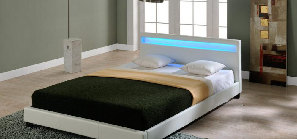 Łóżko ze stelażem 140×200