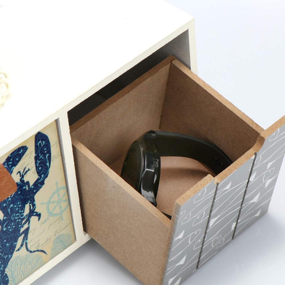 Komoda drewniana z szufladami - Zdjęcie 1