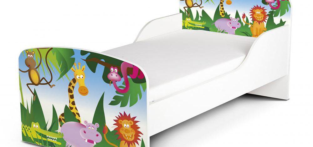 Drewniane łóżko dla dziecka – 8 kolorowych sposobów by Twój maluch wolał spać sam