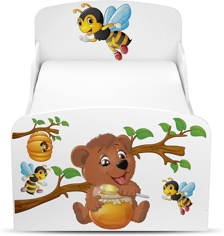 Drewniane łóżko dla dziecka - Zdjęcie 1