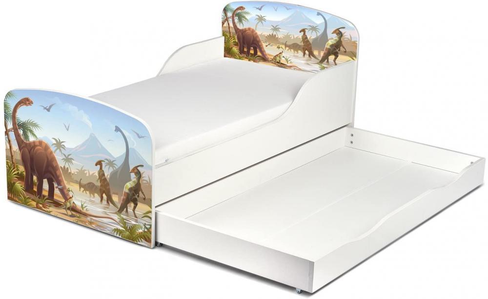 łóżko dziecięce z szufladą - Zdjęcie 1