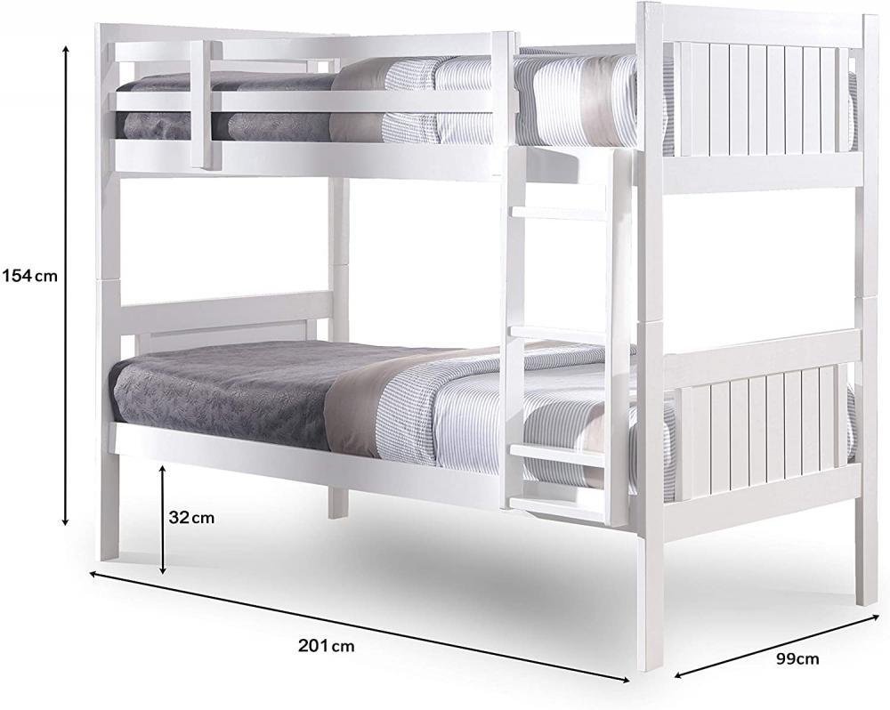 łóżko piętrowe dla dziewczynek - Zdjęcie 1