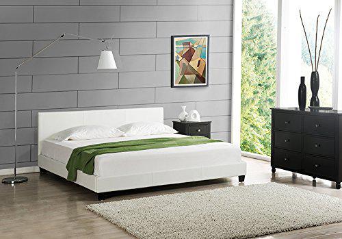 łóżko tapicerowane z materacem - Zdjęcie 1