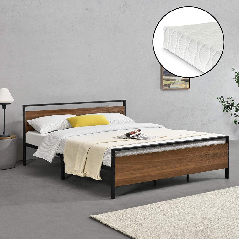 łóżko młodzieżowe z materacem - Zdjęcie 1