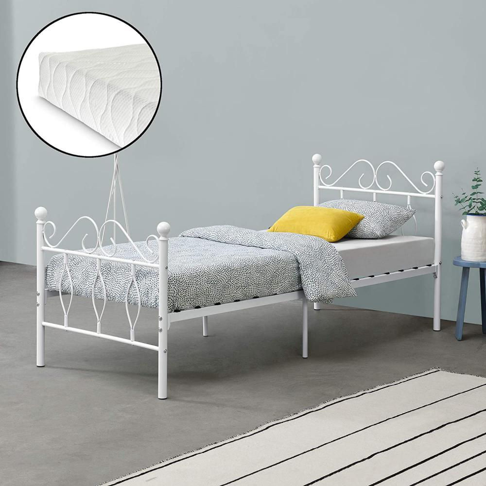 łóżka młodzieżowe z materacem - Zdjęcie 1