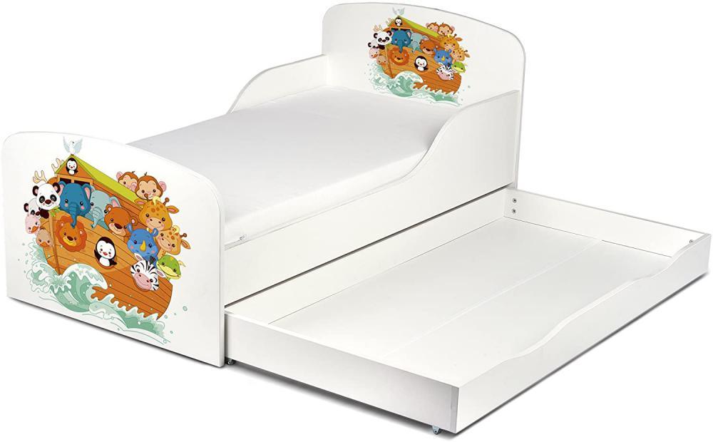 łóżko dziecięce z materacem - Zdjęcie 1