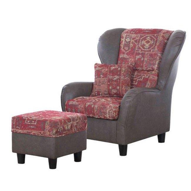 Ciekawe fotele z pufami