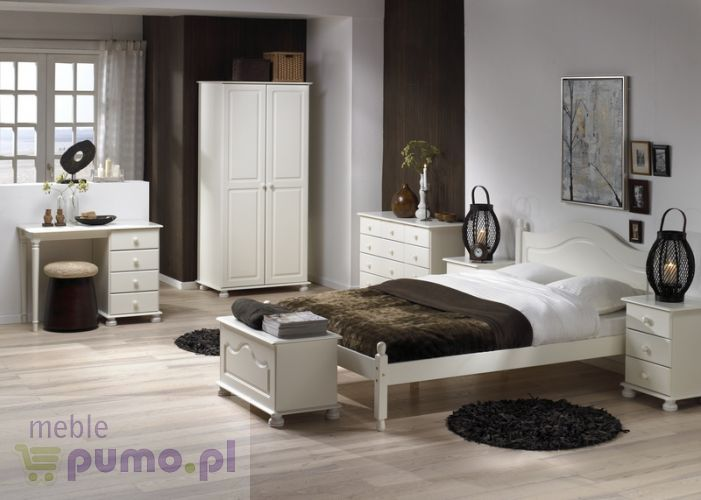 Biała Romantyczna Sypialnia Richmond Ii