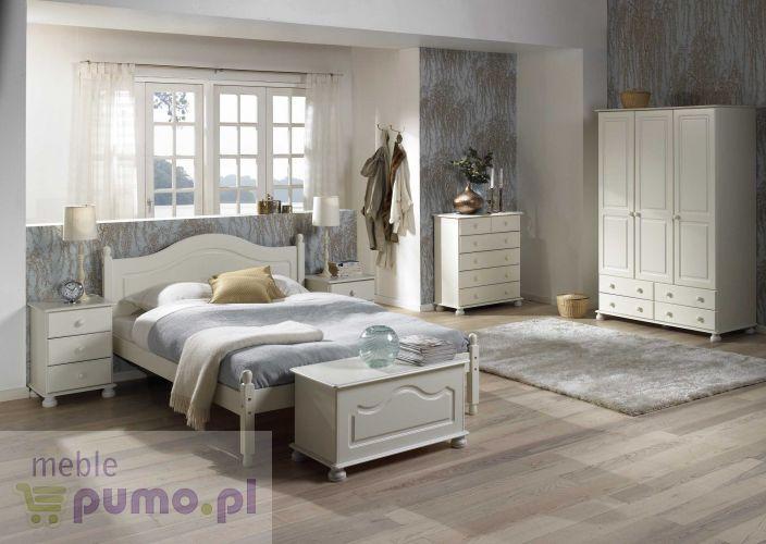 Biała Romantyczna Sypialnia Richmond I