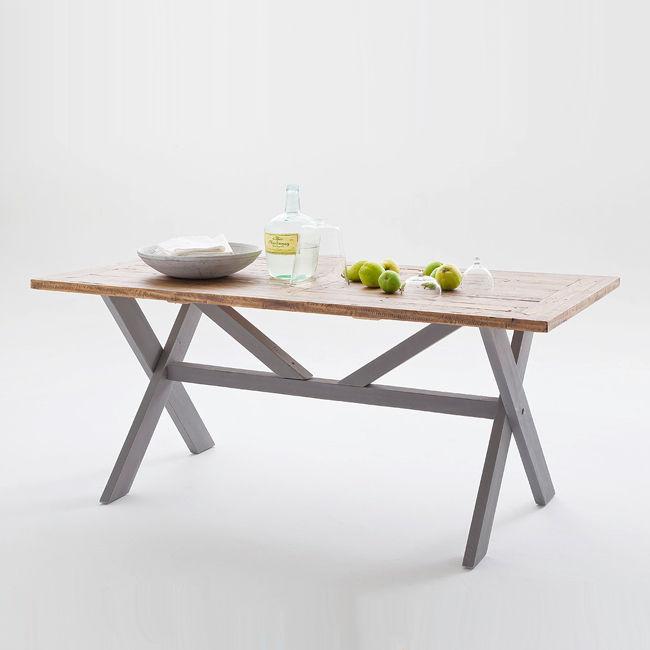 Wspaniały BYRON stół do jadalni 180×90 cm – szary – Mojmebel.pl QL27