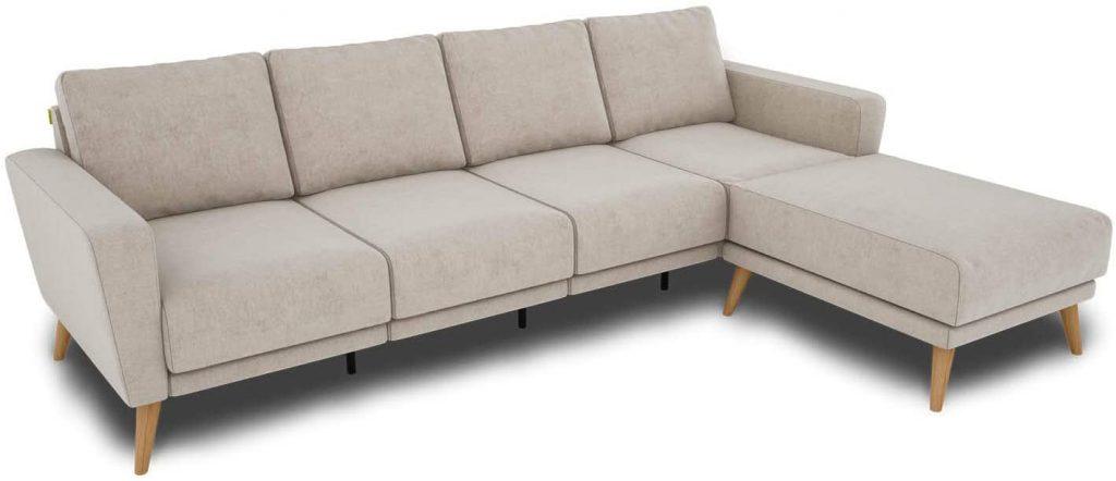 KAUTSCH Lotta czteroosobowa sofa do salonu rozkładana