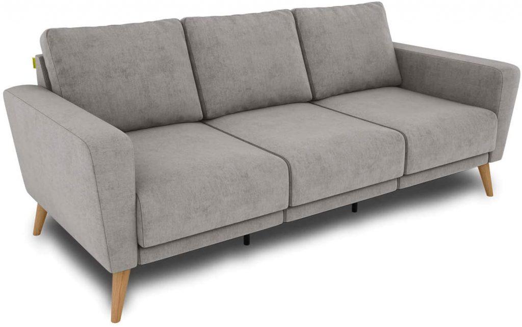 KAUTSCH Lotta trzyosobowa sofa do salonu rozkładana