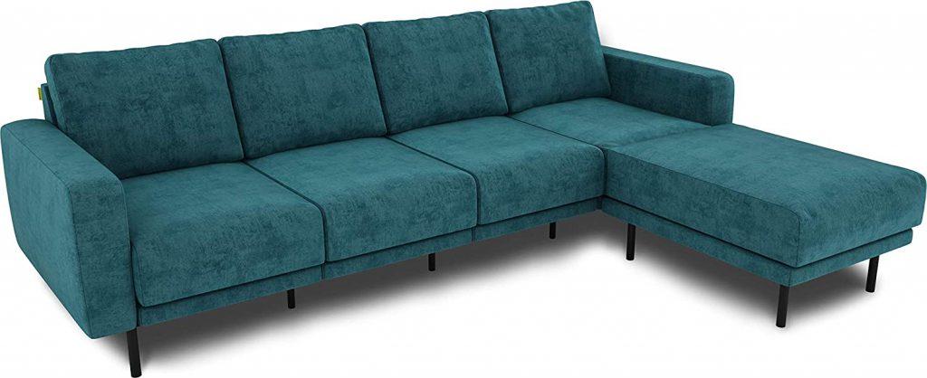 KAUTSCH Mette czteroosobowa sofa do salonu rozkładana