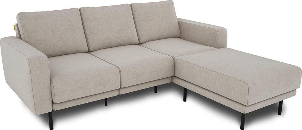KAUTSCH Mette trzyosobowa sofa do salonu rozkładana